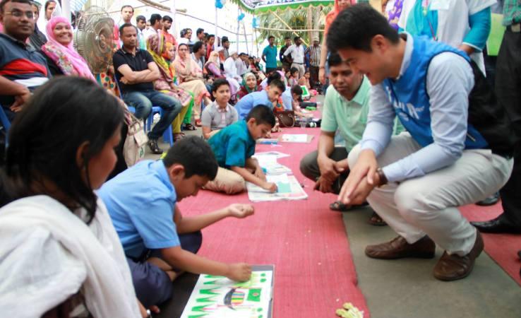 Korea's commitment on autism in Bangladesh