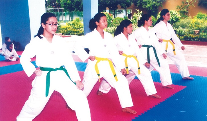 National school-college taekwondo from April 25