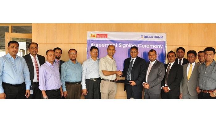 BRAC Bank-Kazi Farms sign banking service deal