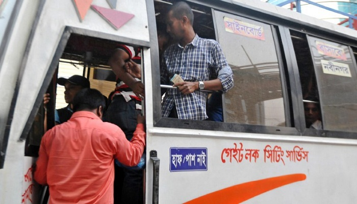 BRTA suspends drive against 'sitting bus services' for 15 days