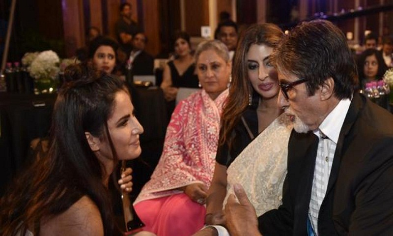 Amitabh Bachchan shares photo of Katrina Kaif with Shweta Nanda