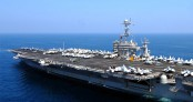 US aircraft carrier to reach waters near North Korea next week