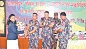 Border Guard Bangladesh accords reception to athletes