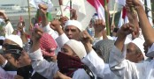 Voting continues in Indonesia amid religious tension