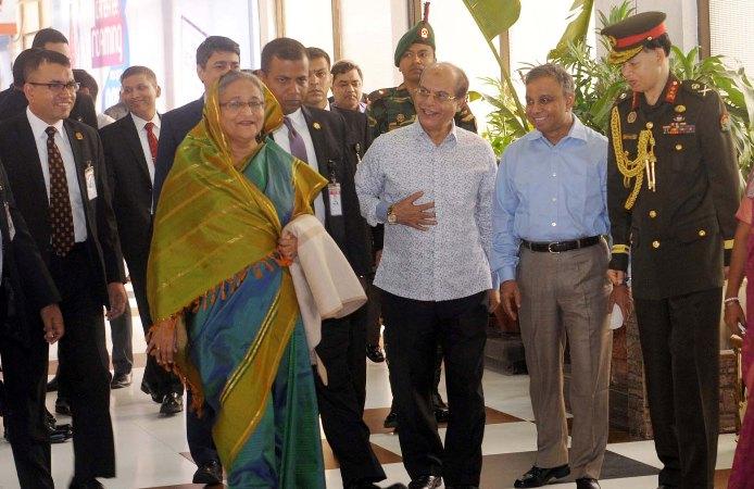 Prime Minister Sheikh Hasina arrives Dhaka from Bhutan