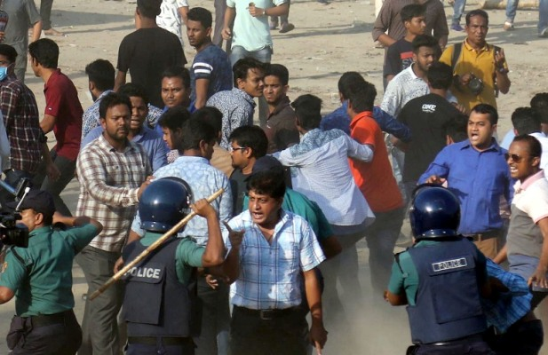 Chhatra League suspends 2 CU unit leaders