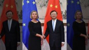 China, EU push message of free trade, engagement