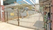 Iron gate on road irks people