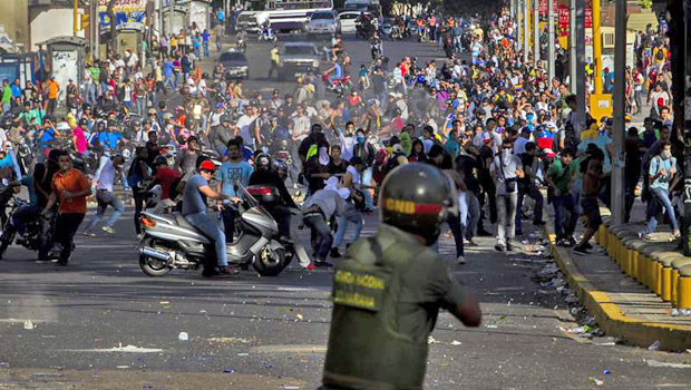Venezuela crisis: Three killed at anti-government protests