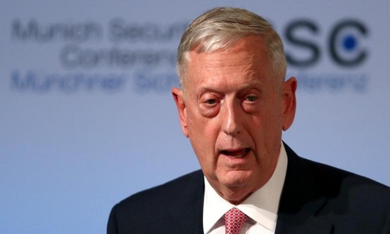 Pentagon chief Jim Mattis says US won't reveal 'mother of all bombs' toll