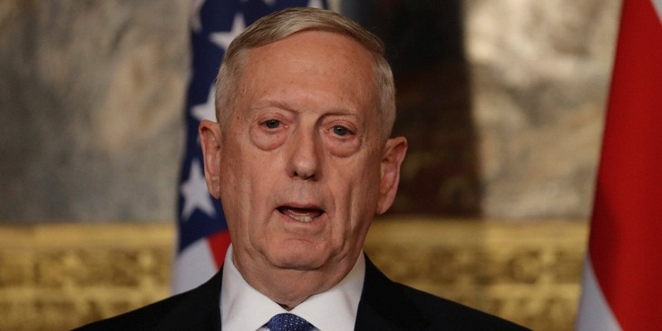 'No doubt' Syria has retained chemical weapons: Mattis