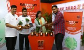 Banglalink celebrates 'Earth Day' with its customers countywide