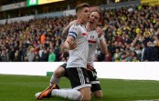 Football: Johansen fires Fulham's Premier League dreams