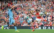 Arsenal beat Manchester City in extra time to reach final with Chelsea