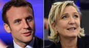 Centrist Macron, far-right Le Pen in battle to lead France