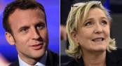 Centrist Macron, far-right Le Pen in battle to lead France