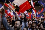 French elections: Euro jumps after French vote