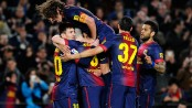 Lionel Messi scores stunning stoppage-time winner as Barcelona win Clasico thriller 3-2