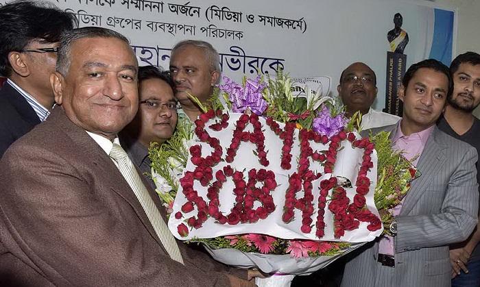 EWMGL boss accorded warm reception for achieving Dadasaheb Phalke Award