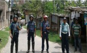 Police cordon off 'militant dens' in Rajshahi