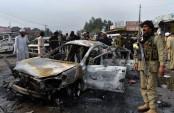 Official: Roadside bomb kills 9 people in northwest Pakistan