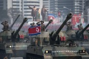North Korea marks military anniversary with firing drill