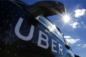 Uber takes to the skies with next ride-hailing project