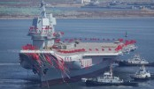 China launches domestically built aircraft carrier: Media