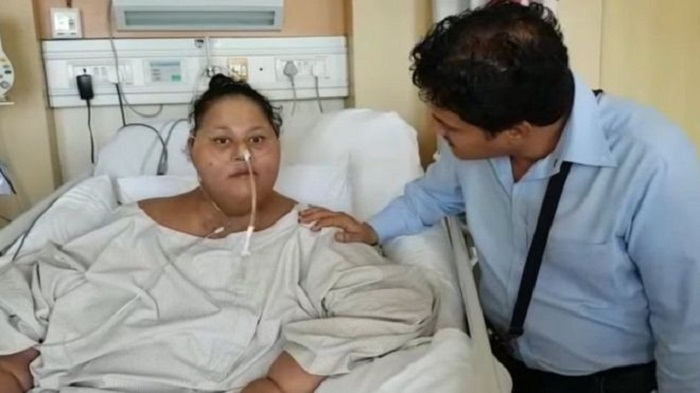 Obese woman to move to UAE after 'losing 250kg' in India