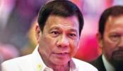 Duterte says helpless against China
