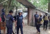 'Militants' bodies recovered from C'nawabganj den