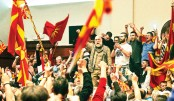 Protesters storm Macedonia parliament, over 100 injured