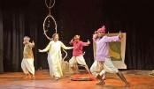 'Prothom Partho' staged at Gono Bishwabidyalay