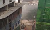 Bijoynagar building catches fire