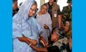Prime Minister Hasina exposes love, compassion for flood-hit haor people