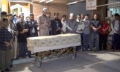 Kazi Arif's janaza held in USA