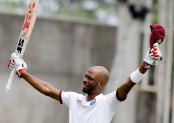 Chase century as West Indies close on 286-6 v Pakistan