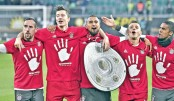 Bayern win fifth straight German league title