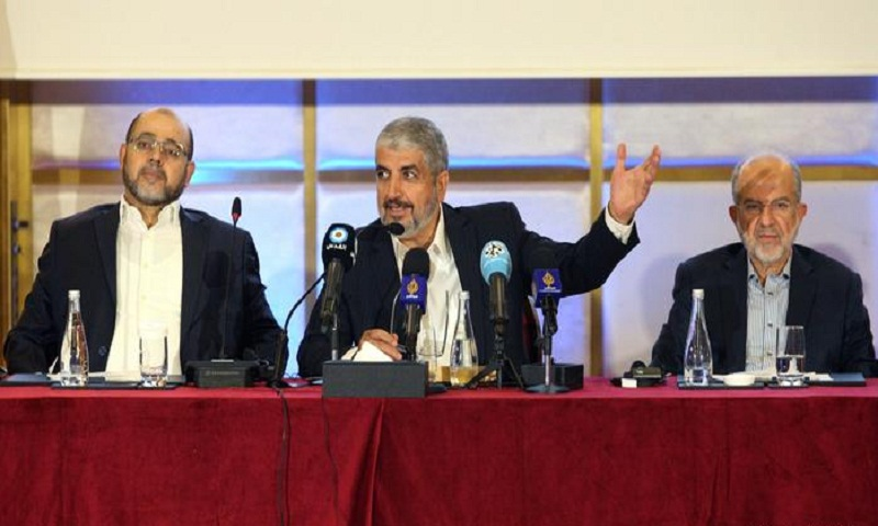 Hamas recognizes 1967 borders, rejects Israel