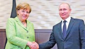 Merkel holds talks with Putin on rare Russia visit