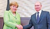 Merkel holds talks with Putin on rare Russia visit