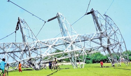 37 dists go off power for five hours