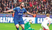 Higuain brace blanks Monaco