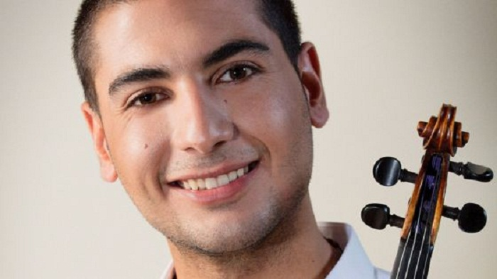 Rami who fled Homs with violin releases album