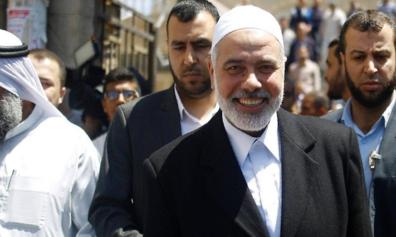 Former Gaza chief Islmail Haniya elected leader of Hamas