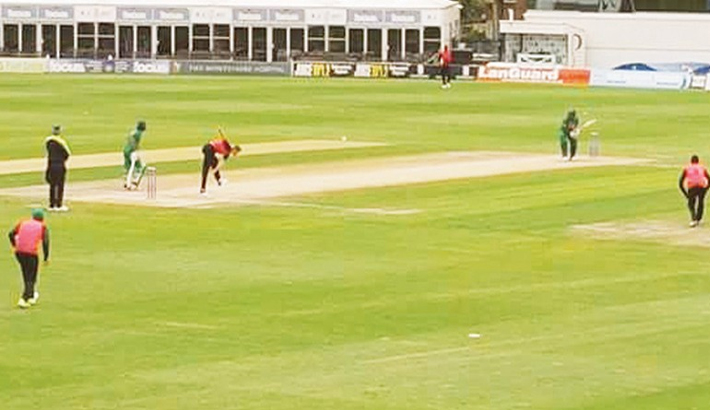 Tigers thrash Sussex in second warm-up