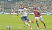 Lanzini leaves Spurs' title bid in tatters