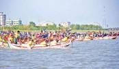 Sampan race to save Karnaphuli