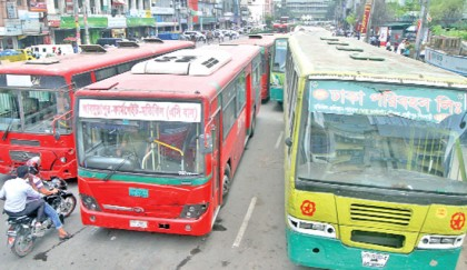 City people suffer for mindless bus parking
