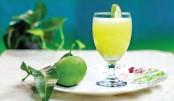 Refreshing Green Mango Juice